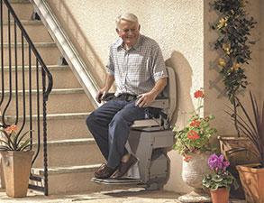 sillas salvaescaleras exterior